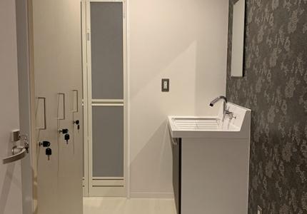 AFLのシャワールーム