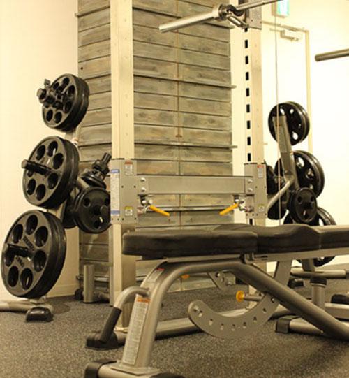 AFLのパーソナルトレーニング室